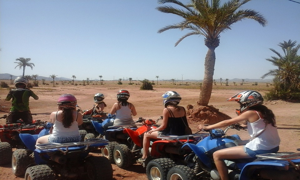 marrakech quad biking day excursion
