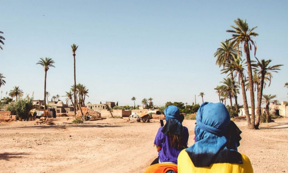 camel riding marrakech