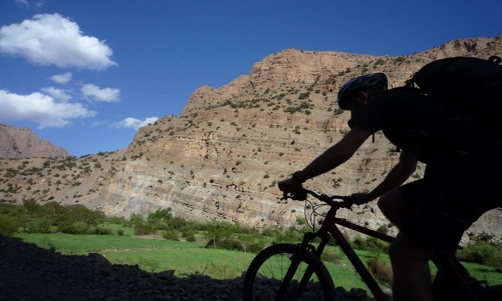 mountain saghor & oasis biking tour from marrakech