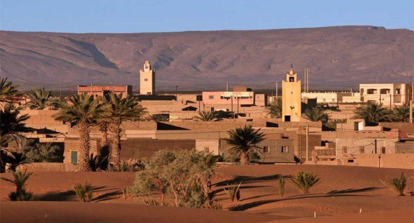 village of Merzouga