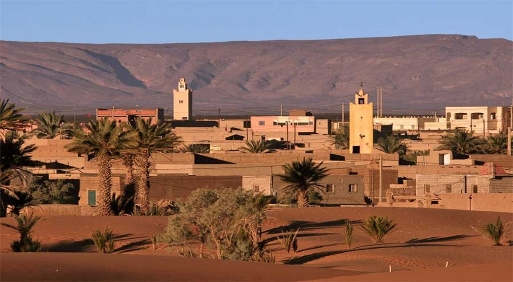 village of Merzouga