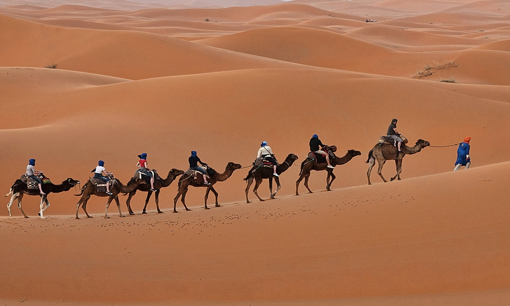 4 days hiking sahara desert tour from marrakech