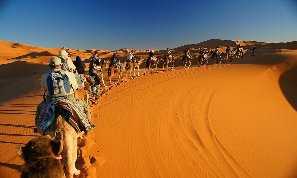 3 days sahara desert trip with camel ride