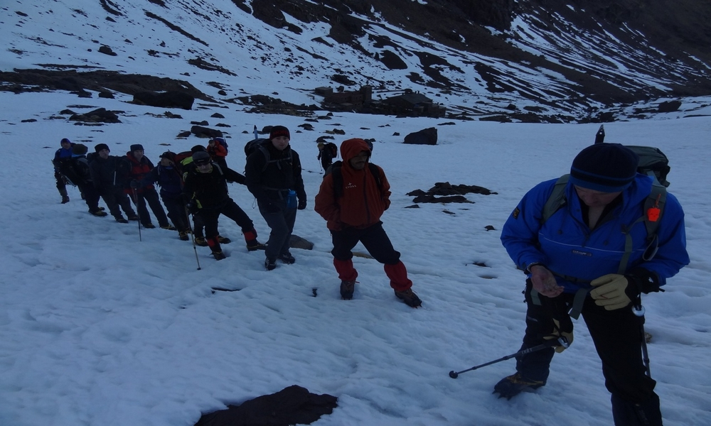 Mt toubkal winter climb - 3 days winter trekking