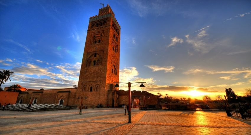 marrakech moroccan city