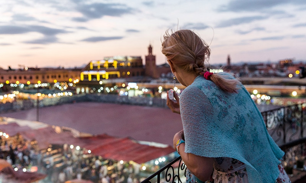 Single Female traveling Morocco